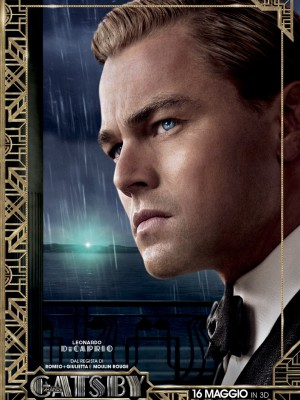 Il grande gatsby poster Leonardo DiCaprio Carey Mulligan