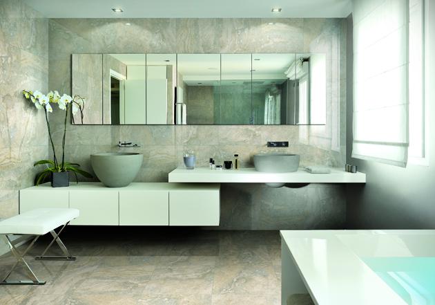 ... Bagno Boiserie: Finto sasso per esterni u boiserie in ceramica bagno