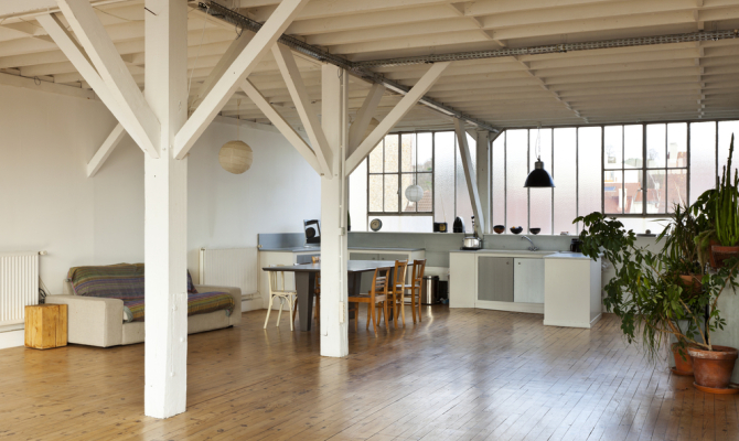 Arredare casa in stile industrial chic for Open space in stile ranch