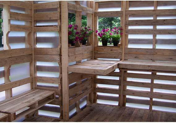 Case di pallet architettura con risvolto sociale www for Costo materiale per costruire una casa