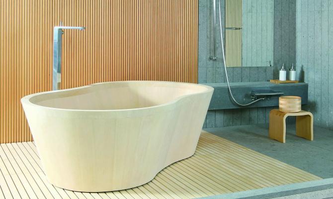 Vasca Da Bagno Giapponese In Legno : Japan design: una casa in stile nipponico www.stile.it