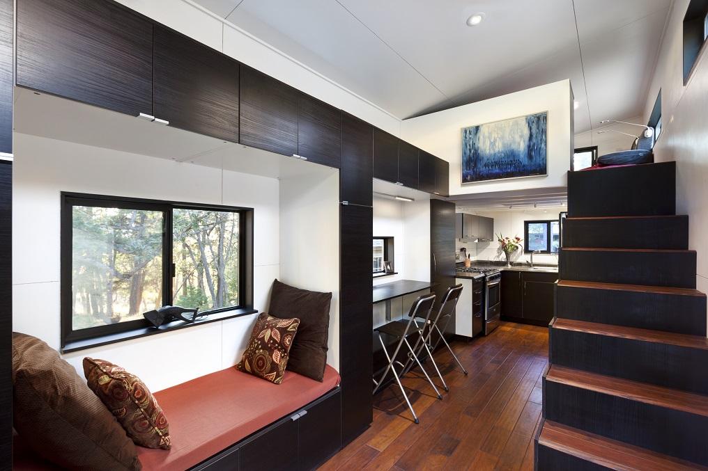Home la mini casa con zero bollette - Tiny house interni ...