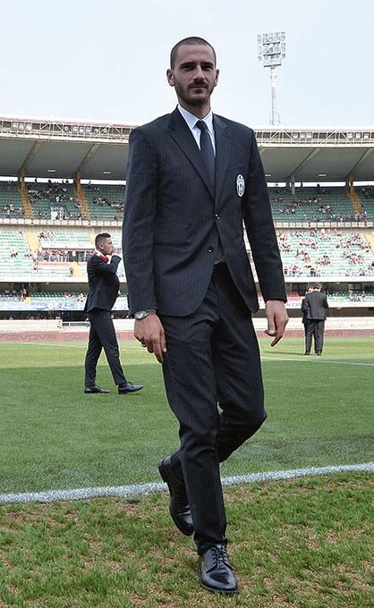 Abito Elegante Juventus.Juventus Il Calcio E Alla Moda Con Trussardi Www Stile It