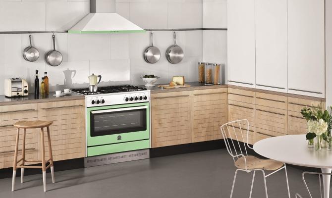 Gli anni 60 rivivono in cucina - Cucine vintage anni 50 ...