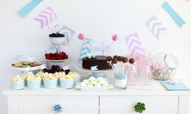 Tavolo Compleanno Bimbo : Il compleanno dei bimbi idee di tavola stile