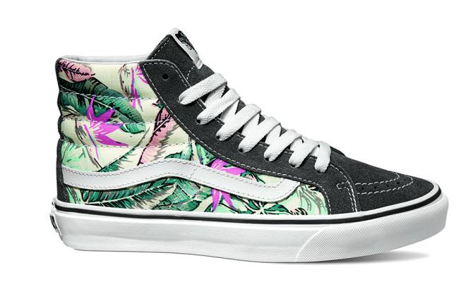vans scarpe fiori