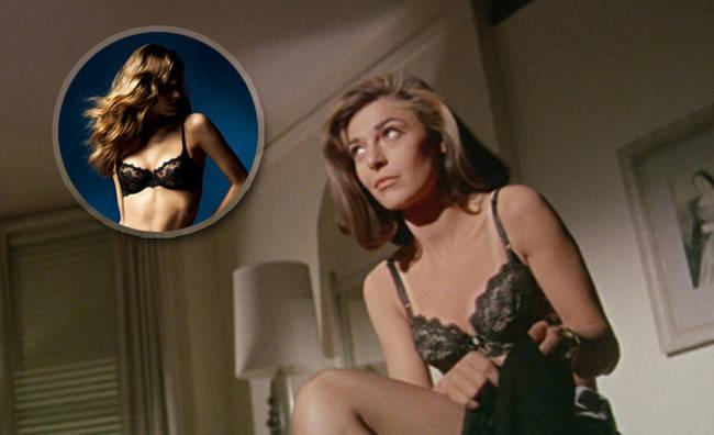 Speciale lingerie. Sexy come al cinema - Anne Bancroft scena film Il lauretato - 15 di 20