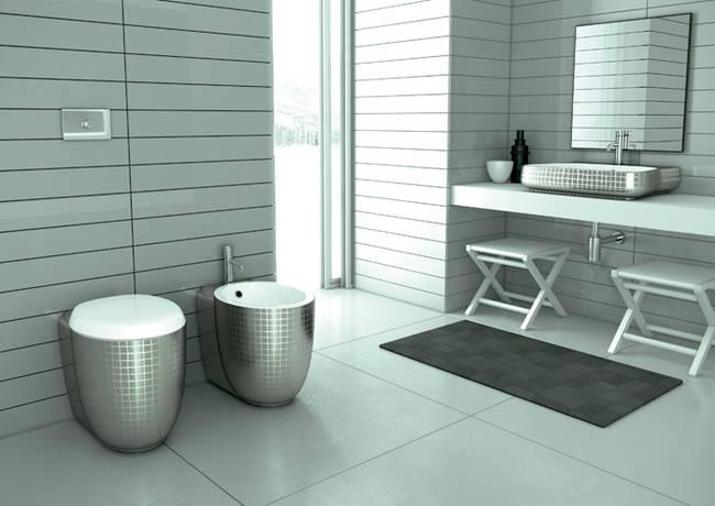 Un bagno di design - Mini lavabo bagno ...