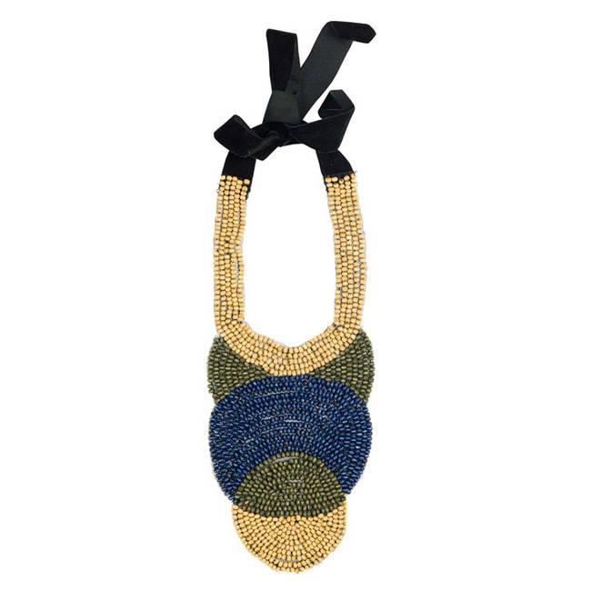 Zara Accessori estate 2012 - Zara 2012 - collana con laccio nero - 7 di 14