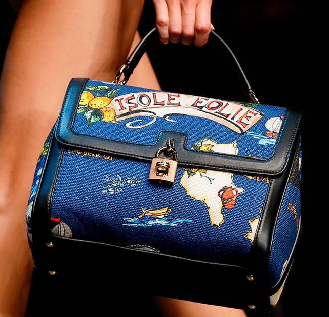 Bye bye tracolla! Le borse dell'estate 2013 - Borsa bauletto Dolce&Gabbana - 16 di 30