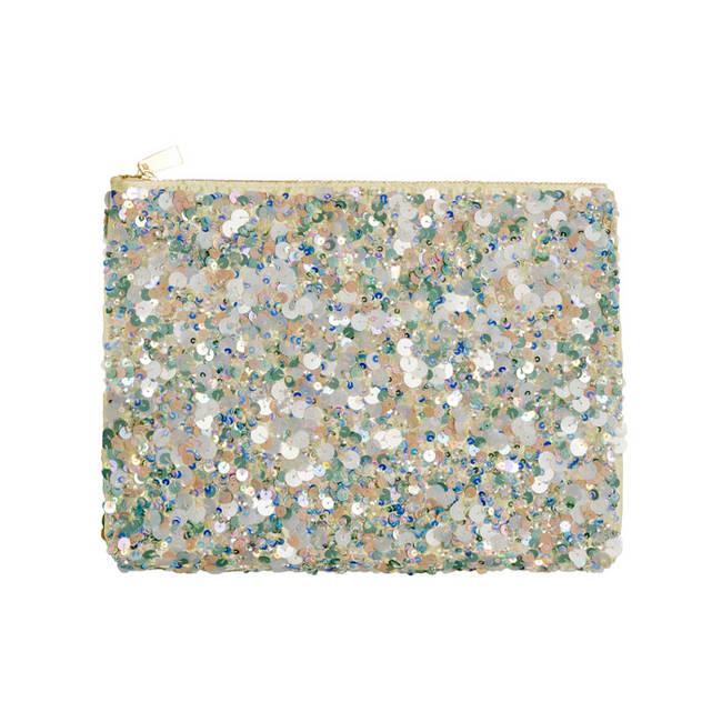 Zara Accessori estate 2012 - Zara 2012 - pochette con paillettes - 3 di 14