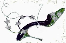 Disegno di scarpa con tacco di Manolo Blanhik