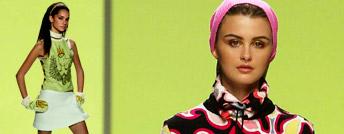 Maglietta donna e gonna della collezione autunno inverno 2003 2004 di Emilio Pucci