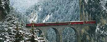 I treni delle montagne svizzere