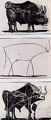 Pablo Picasso: Sintesi del Toro