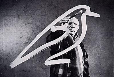 Pablo Picasso all'opera