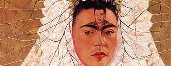 Diego en mi pensamiento di Frida Kahlo