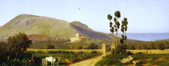Veduta di Monte Catalfano di Francesco Lo Jacono