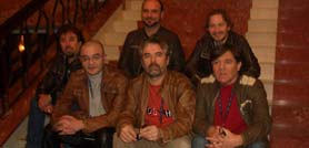 Il gruppo musicale I Nomadi