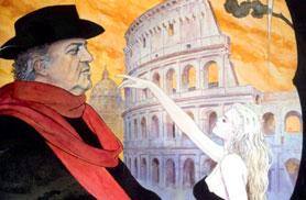 Federico Fellini e Roma