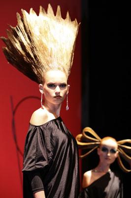 La testa nella moda
