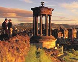 Edimburgo dall'alto