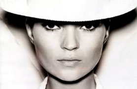 La top model Kate Moss