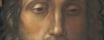 Particolare di Cristo Redentore di Andrea Mantegna