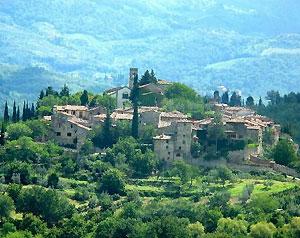 Montefioralle, un borgo nel Chianti