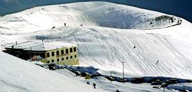 Etna. Vulcano di neve