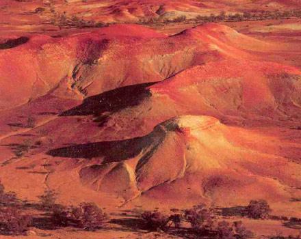 I mille colori di Anna Creek Painted Hills