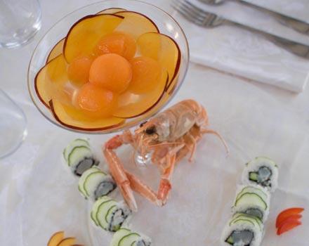 Riccione, cena con zodiaco