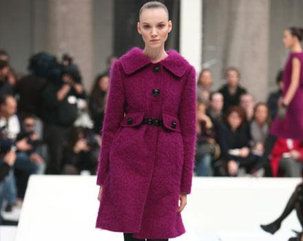 Cappotto della collezione autunno inverno 2007 2008 di Alberta Ferretti