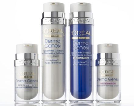 Il trattamento anti età Derma Genesi di L'Oreal Paris
