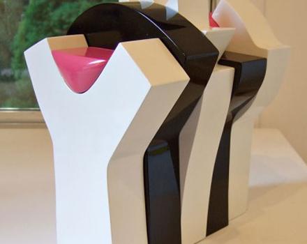 Opera esposta alla mostra di arte contemporanea Palinsesti2007 a San Vito al Tagliamento
