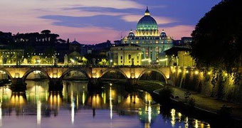 Roma Tevere by night