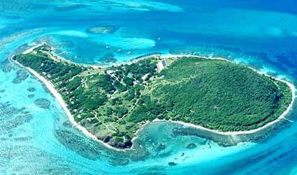 Petit Saint Vincent, l'isola nell'isola
