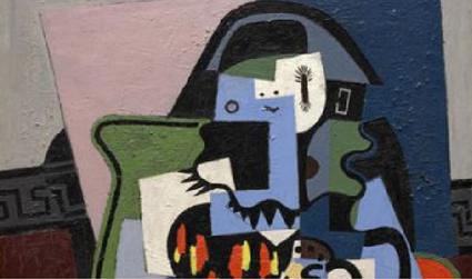 Arlecchino musicista di Pablo Picasso