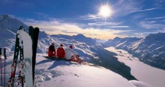 Sport e divertimento sulla neve di St Moritz