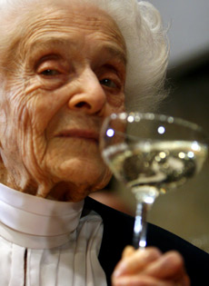 Inossidabile centenaria