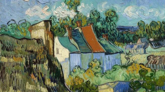 Case a Auvers di Vincent Van Gogh