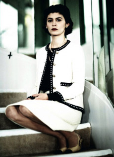 Audrey Tautou è Coco Chanel