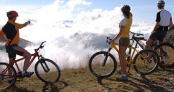 Sportive in sella alle Dolomiti