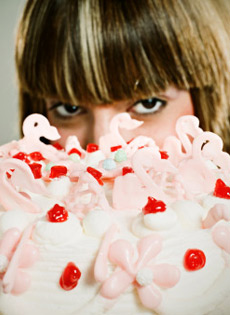 Cake sniffing: il sapore della follia