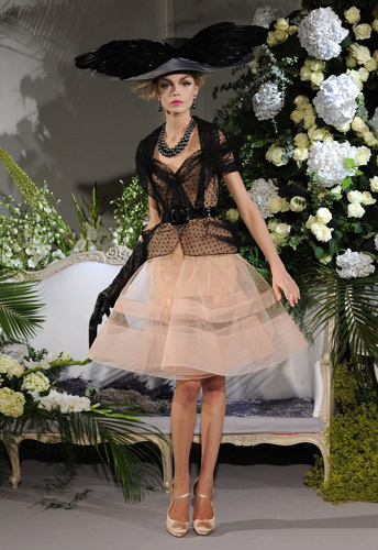 Christian Dior sfilata Haute Couture
