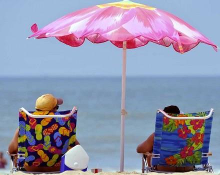 Mare spiaggia Huntington Beach