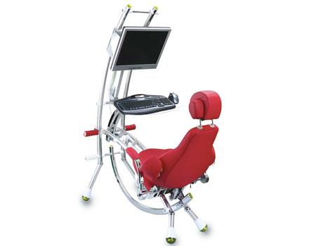 La sedia di chi lavora