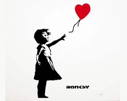 Bansky - stencil