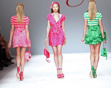 Style is a glamorous game da Blugirl