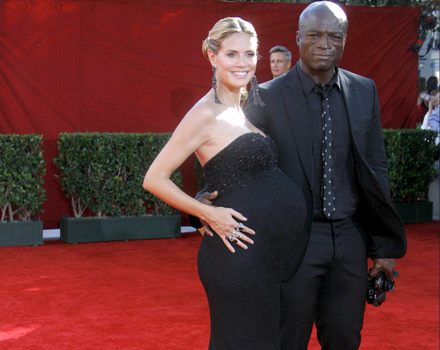 Heidi Klum in versione premaman
